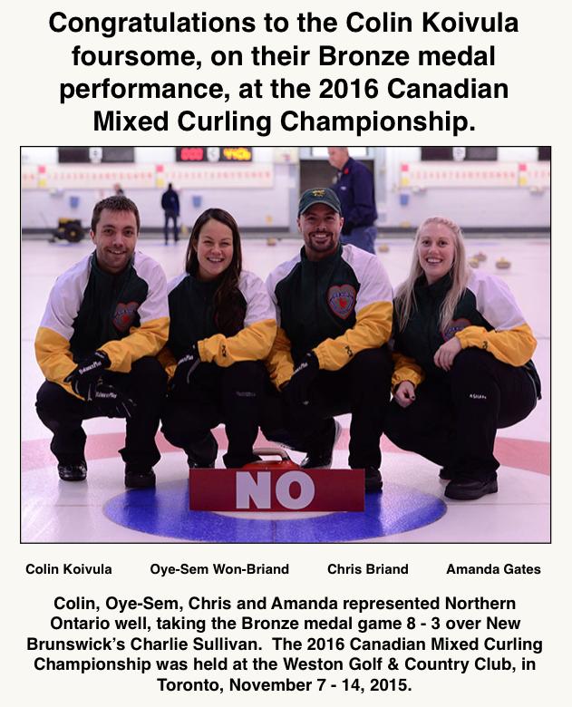 Mixed Curling Bronze II