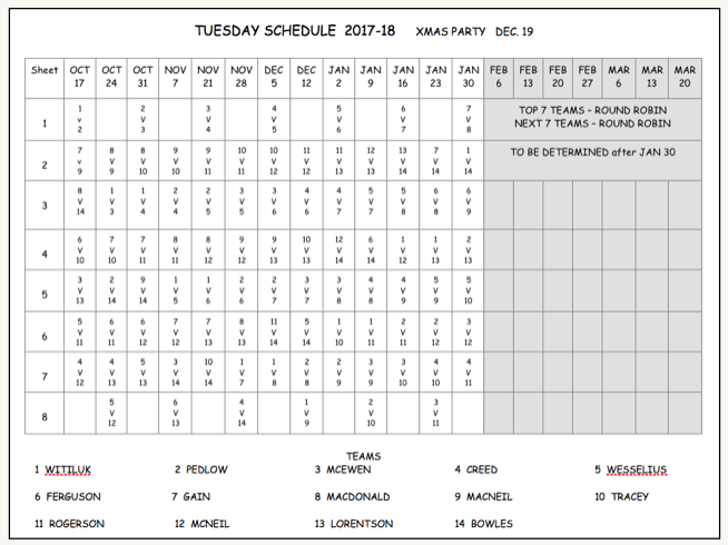 PAL 17-18 Tuesday Series 1
